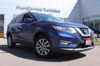 Used 2017 Nissan Rogue SV ONE OWNER ACCIDENT FREE TRADE, NAVI WITH ONLY 40042 KMS. NISSAN CERTIFIED PREOWNED! for sale in Toronto, ON
