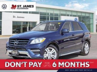 Used 2015 Mercedes-Benz ML-Class ML 400, Clean Carfax, Navigation, Sunroof for sale in Winnipeg, MB