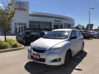 Used 2010 Toyota Matrix TOURING PACKAGE - EXCELLENT VEHICLE - TIRE PRESSURE MONITOR SYSTEM for sale in Stouffville, ON
