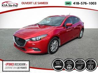 Used 2017 Mazda MAZDA3 * GS* SIEGES CHAUFFANTS* VOLANT CHAUFFAN for sale in Québec, QC