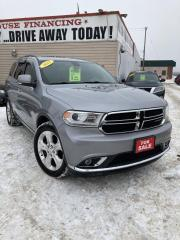 Used 2015 Dodge Durango Limited for sale in Winnipeg, MB