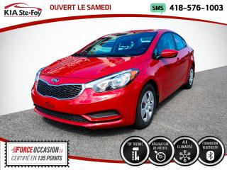 Used 2016 Kia Forte * LX* BLUETOOTH* A/C * for sale in Québec, QC