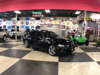 Used 2016 BMW 3 Series 320I X DRIVE SPORT PKG AUT0 P/SUNROOF BACKUP CAMERA 57K for sale in North York, ON