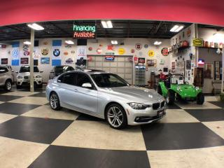 Used 2016 BMW 3 Series 320I X DRIVE SPORT PKG AUT0 P/SUNROOF BACKUP CAMERA 68K for sale in North York, ON