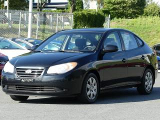 Used 2007 Hyundai Elantra GL JAMAIS ACCIDENTE!!! for sale in St-Georges, QC