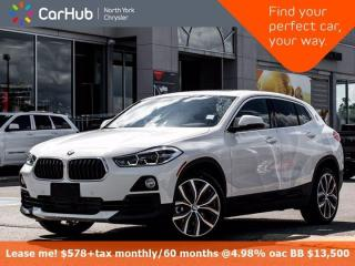 Used 2020 BMW X2 xDrive28i Panoramic Sunroof Navigation Backup Camera Frontal Collision Warning for sale in Thornhill, ON