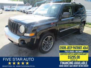 Used 2009 Jeep Patriot Limited *1 Owner* Certified w/ 6 Month Warranty for sale in Brantford, ON