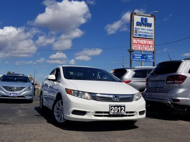 2012 Honda Civic EX SUNROOF ALLOYS NO ACCIDENTS CARFAX CLEAN