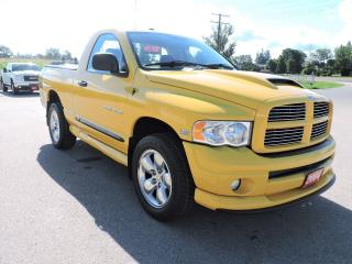 Used 2004 Dodge Ram 1500 SLT Rumble Bee  Rust Free New tires for sale in Gorrie, ON