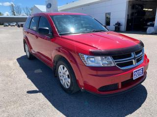 Used 2015 Dodge Journey Canada Value Pkg for sale in Harriston, ON
