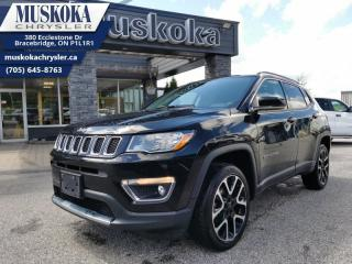 Used 2018 Jeep Compass LIMITED for sale in Bracebridge, ON