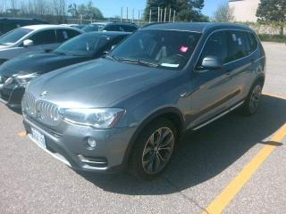 Used 2015 BMW X3 xDrive28d for sale in Barrie, ON