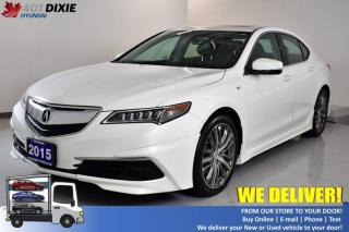 Used 2015 Acura TLX Tech for sale in Mississauga, ON