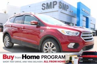 Used 2017 Ford Escape Titanium- Leather, Navigation, Rem Start, Pwr Lift Gate for sale in Saskatoon, SK