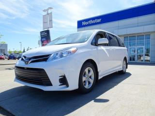 Used 2020 Toyota Sienna LE 8PASS/APPLEPLAY/DUALSLIDINGDOORS/HEATEDSEATS/BACKUPCAM/STOWNGO for sale in Edmonton, AB
