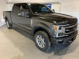 New 2020 Ford F-350 Super Duty SRW PLATINUM for sale in Peace River, AB