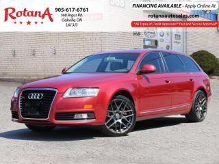 Used 2010 Audi A6 Avant_Wagon_Blind Spot_Navi_Rear Cam_Sunroof_Bluet for sale in Oakville, ON