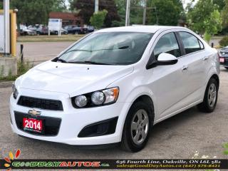 Used 2014 Chevrolet Sonic LT|LOW KM|NO ACCIDENT|REMOTE STARTER|BT|CERTIFIED for sale in Oakville, ON