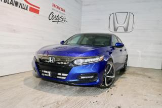 Used 2018 Honda Accord Sport for sale in Blainville, QC