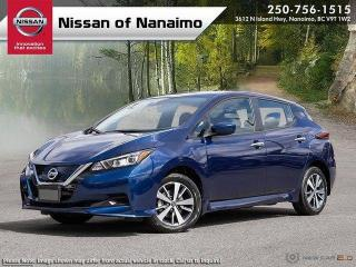 New 2020 Nissan Leaf S PLUS for sale in Nanaimo, BC