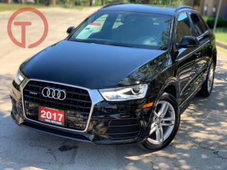 Used 2017 Audi Q3 Komfort for sale in Burlington, ON