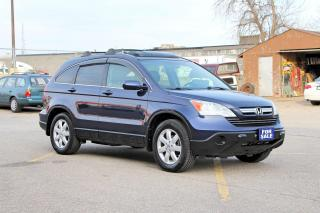 Used 2007 Honda CR-V EX-L+REVERSE CAM+NAVIGATION for sale in Brampton, ON