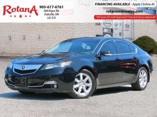 Used 2013 Acura TL w/Tech Pkg_Navi_Rear Cam_Bluetooth for sale in Oakville, ON