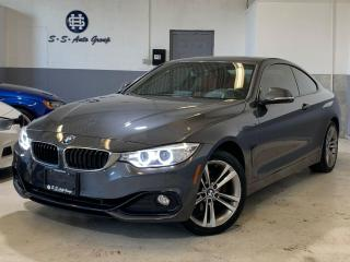 Used 2014 BMW 428i XDRIVE COUPE|SPORT PKG|HUD|NAV|BACK UP|RED SEATS| for sale in Oakville, ON