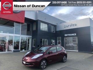 Used 2017 Nissan Leaf SV for sale in Duncan, BC