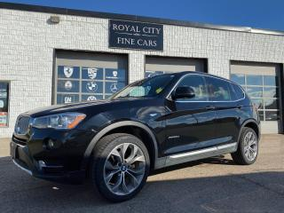Used 2016 BMW X3 xDrive28d Xline Premium Package Certified for sale in Guelph, ON