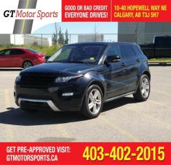 Used 2012 Land Rover Range Rover Evoque Dynamic Premium for sale in Calgary, AB