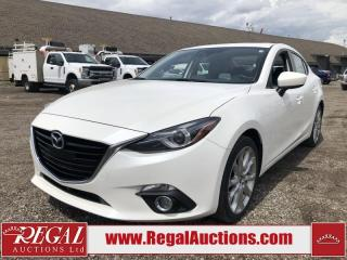 Used 2016 Mazda MAZDA3 GT 4D Sedan AT W/LUX 2.5L for sale in Calgary, AB