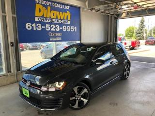 Used 2015 Volkswagen Golf GTI GTI Autobahn for sale in Nepean, ON