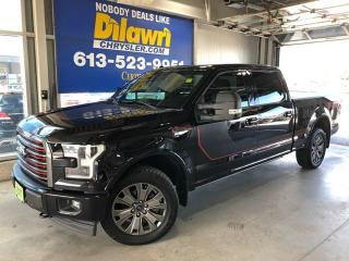 Used 2017 Ford F-150 Lariat SuperCrew Cab for sale in Nepean, ON