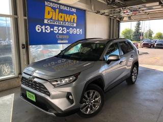 Used 2019 Toyota RAV4 LIMITED  for sale in Nepean, ON