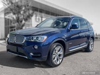 Used 2017 BMW X3 xDrive28i PREMIUM ENHANCED! for sale in Winnipeg, MB
