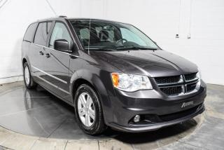 Used 2017 Dodge Grand Caravan CREW STOW N GO CUIR MAGS NAV CAMERA DE R for sale in St-Hubert, QC
