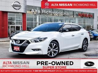 Used 2016 Nissan Maxima SL   Pano   Navi   Remote Start   Bose   18 Alloy for sale in Richmond Hill, ON