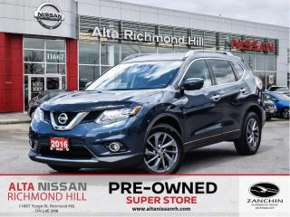 Used 2016 Nissan Rogue SL Plat.   Leather   360   Pano   Heated Steering for sale in Richmond Hill, ON