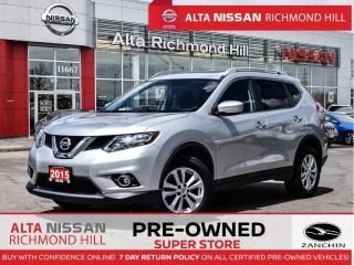 Used 2015 Nissan Rogue SV AWD   Moonroof   Push Start   Heated Seats for sale in Richmond Hill, ON