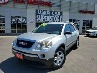 Used 2010 GMC Acadia SLE, 7 Passenger, A/C, Remote Starter. for sale in Niagara Falls, ON