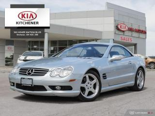 Used 2003 Mercedes-Benz SL500 5.0L - CARFAX CLEAN, ULTRA LOW KMS!!! for sale in Kitchener, ON