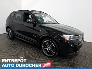 Used 2016 BMW X3 XDrive35i AWD NAVIGATION - Toit Ouvrant - A/C - for sale in Laval, QC