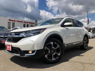 Used 2018 Honda CR-V Touring - Navigation - Leather - Pano Roof for sale in Mississauga, ON