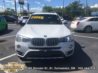 Used 2017 BMW X3 XDrive35i  - Certified for sale in St Catharines, ON