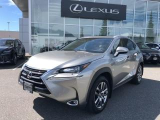 Used 2017 Lexus NX 200t 6A / New Front + Rear Brakes, Premium Pkg, One Own for sale in North Vancouver, BC