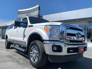 Used 2011 Ford F-350 Lariat FX4 4WD DIESEL LB SUNROOF NAVI CAMERA CANOP for sale in Langley, BC