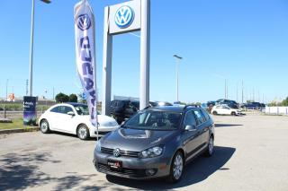 Used 2013 Volkswagen Golf Wagon 2.0L TDI Man Highline for sale in Whitby, ON