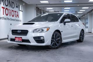 Used 2017 Subaru WRX 4DR SDN MT for sale in Richmond Hill, ON