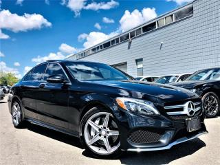 Used 2017 Mercedes-Benz C 300 4MATIC|PANORAMIC|HEATED MEMORY SEATS|NAVI|REAR VIEW CAM| for sale in Brampton, ON